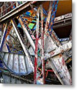 Bridge Works Metal Print