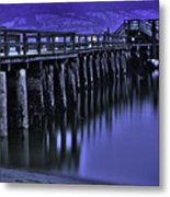 Bridging Gaps Metal Print