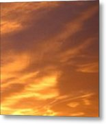 Brilliant Spring Sky Metal Print