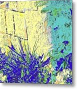 Brimstone Blue Metal Print