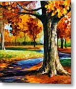 Bristol Fall  Metal Print