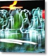 Broadway Lights Metal Print