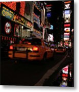 Broadway Lights Metal Print