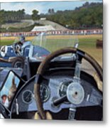 Brooklands From The Hot Seat  Metal Print