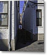 Brooklyn Alleyway Metal Print