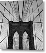 Brooklyn's Web Metal Print by Joshua Francia