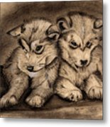 Brotherly Love Metal Print by Russ  Smith
