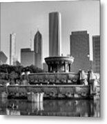 Buckingham Fountain - 2 Metal Print