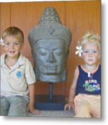 Buddha's Angels Metal Print