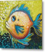 Buddy Fish Metal Print
