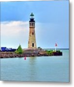 Buffalo Lighthouse Metal Print by Kathleen Struckle