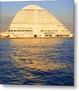 Building At Kobe Harbor Metal Print