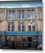 Building On The Strand Metal Print