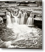 Bull Creek Water Run Metal Print by Lisa  Spencer