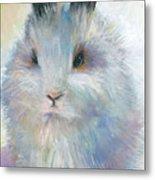 Bunny Rabbit Painting Metal Print