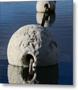 Buoy In Detail Metal Print