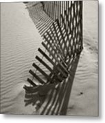 Buried Metal Print