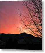 Burlington Sunrise Metal Print