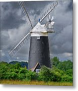 Burnham Overy Mill Metal Print