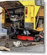 Bus Repairs Metal Print