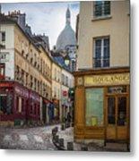 Butte De Montmartre Metal Print