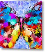 Butterfly 2 Metal Print by Yury Malkov