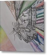 Butterfly Light Metal Print