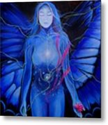 Butterfly Rush Metal Print by Patricia Ann Dees
