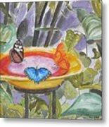 Butterfly Sanctuary At Niagara Falls Metal Print