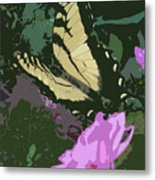 Butterfly's Delight Metal Print