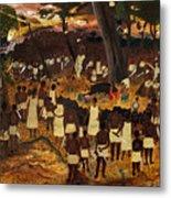 Bwa Kayiman Haiti 1791 Metal Print