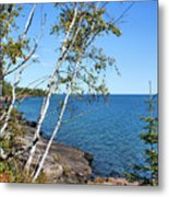 By The Shores Of Gitche Gumee Metal Print by Kristin Elmquist