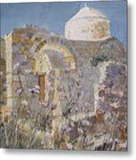 Byzantine Monastery Cyprus Metal Print