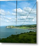 Cable Lift Metal Print
