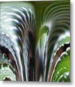 Cactus Predator Metal Print