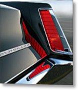 Caddy Taillight Metal Print