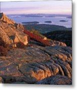 Cadillac Mountain At Sunrise Metal Print