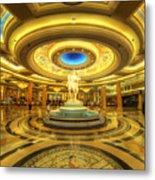 Caesar's Grand Lobby Metal Print