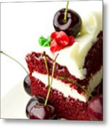 Cake Metal Print by Blink Images