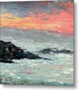 California Coast Metal Print by Gail Kirtz
