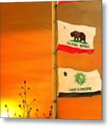California Glory Metal Print