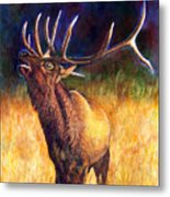 Call Of The Wild Elk Metal Print