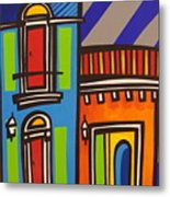 Calle Luna Metal Print by Mary Tere Perez