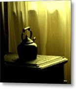 Calling The Kettle Black Metal Print