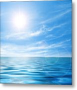 Calm Seascape Metal Print