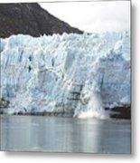 Calving Glacier Metal Print
