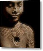 Cambodian Statue  Iv Metal Print