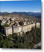 Camerino Italy - Aerial Image Metal Print