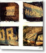 Camp.horne.drive.in. Metal Print