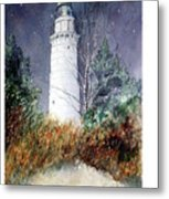 Cana Island Light House Metal Print